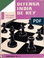 Defensa India Del Rey - Pedro Cherta