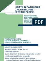 051_complicatii in Patologia Cailor Biliare Extrahepatice