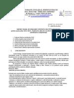 RAPORT ANUAL DE EVALUARE INTERNA' A CALITATII  2012-2013