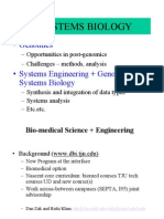 Sysbio Projects