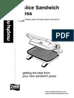 2 Slice Sandwich Press