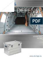 Aluminium box - Defense Box NA 740