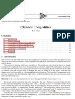 Classical Inequalities