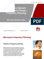 Microwave Network Planning and Design - Frequency Planning