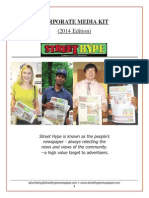 Street Hype Newspaper Media Kit_2014