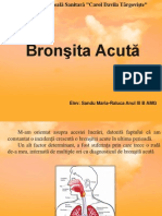 Bronsita Acuta Sandu Raluca