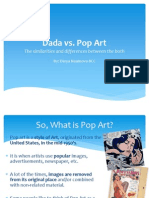 dada vs pop art