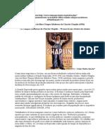 RESENHA Do Filme Tempos Modernos de Charles Chaplin