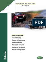 Users Manual - Defender Tdi Td5 v8