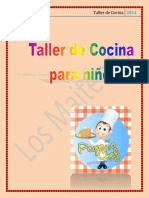 Teresa Barrales Olivares. Cuento (Taller de Cocina)