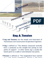 Sag and Tension