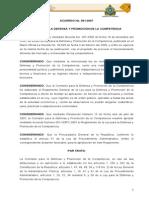 Reglamento a La Ley Competencia 23 07 07