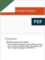 Monitoring Pasien Krisis Dr. Teguh