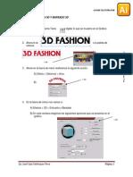 Efectos 3d Illustrator