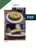 Tort Crema de Zahar Ars
