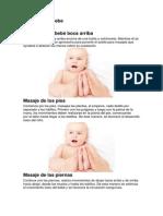 Masaje Para Bebe
