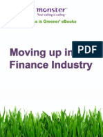 Moving up in the Finance Industry