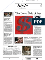 "Blake Gopnik on Andy Warhol at the Corcoran Museum, ""The Down Side of Pop"", The Washington Post 2005-09-24"
