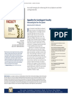 Equality for Contingent Faculty