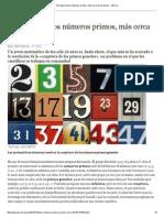 El enigma de los números primos, más cerca de resolverse - ABC