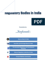 Regulatory Bodies in India