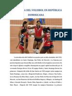 LA HISTORIA DEL VOLEIBOL EN REPÚBLICA DOMINICANA
