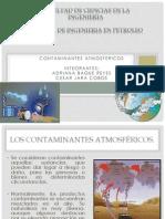 Ing. Christian Alvarez Expo Contaminantes Atmosfericos...
