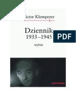 Klemperer, Victor - Dziennik 1933-1945 – 1999 (zorg)