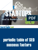 What Startups Need to Know About SEO
