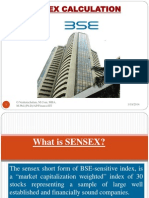 Sensex Calculation