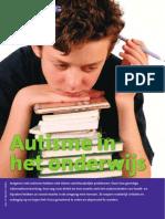 Autisme in Het Onderwijs