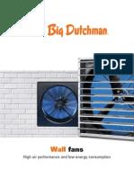 Big Dutchman Stallklima Poultry Pig Climate Control Wall Fans En