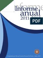 Informe Anual Rector 2011 2012