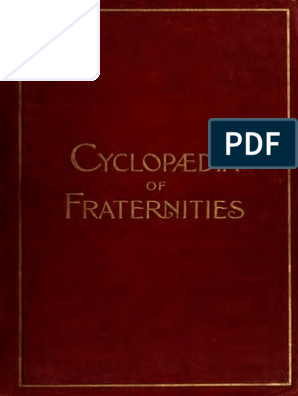 cyclopedia of fraternities (secret societies)   Freemasonry