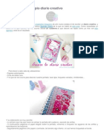 Cómo hacer tu propio diario creativo