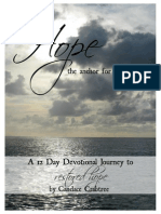 Hope-The Anchor for My Soul- Devotionals