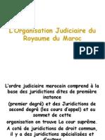 L'Organisation Judiciaire du Royaume du Maroc