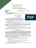 L8078 (código de defesa do consumidor)