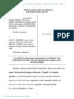 13-4178 #2241 Plaintiffs' Opposition to Extension