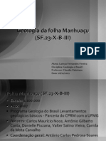 Geologia da folha Manhuaçu _seminário_Larissa