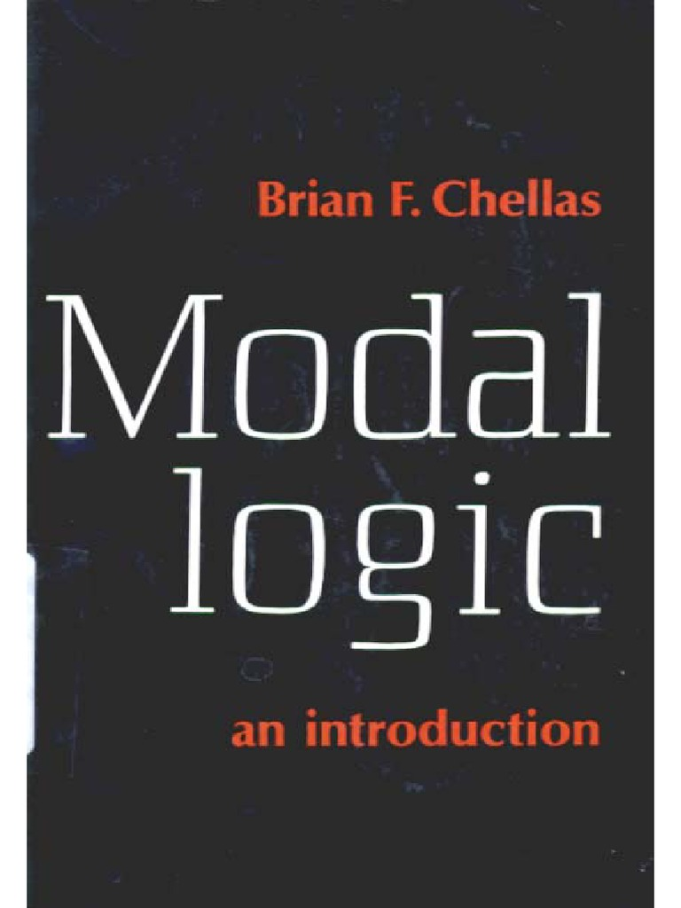 Chellas ModalLogic | Theorem | Modal Logic