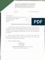 Nigeria Same Sex Prohibition Law 2014