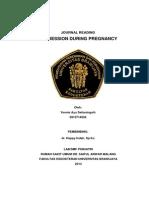Journal Reading Psikiatri Depresi Selama Masa Kehamilan (Supervisor Dr.happy Indah, Sp.kj)