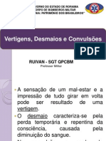 VERTIGEM DESMAIO E CONVULSÃO