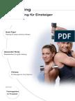 Krafttraining f%FCr Einsteiger (Muskelaufbau, Alle Muskeln)