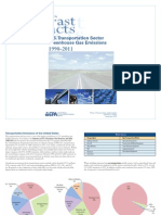 US Transportation Sector Greenhouse Gas Emissions 1990-2011