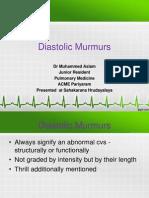 CARDIO PPT Diastolic Murmurs.pptx
