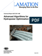 Advanced Algorithms for Hydropower Optimization Phase 1 Report