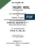 Vida de San Felipe Neri