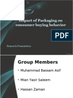Impacts of Packaging